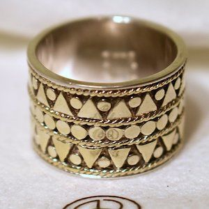 Anna Beck   18k Gold-plated Band Ring
